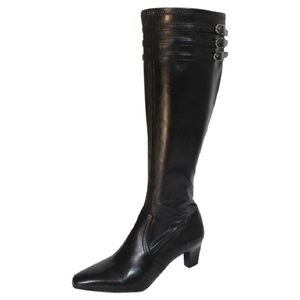 Franco Sarto Faux Leather Knee High Boot Size 6.5